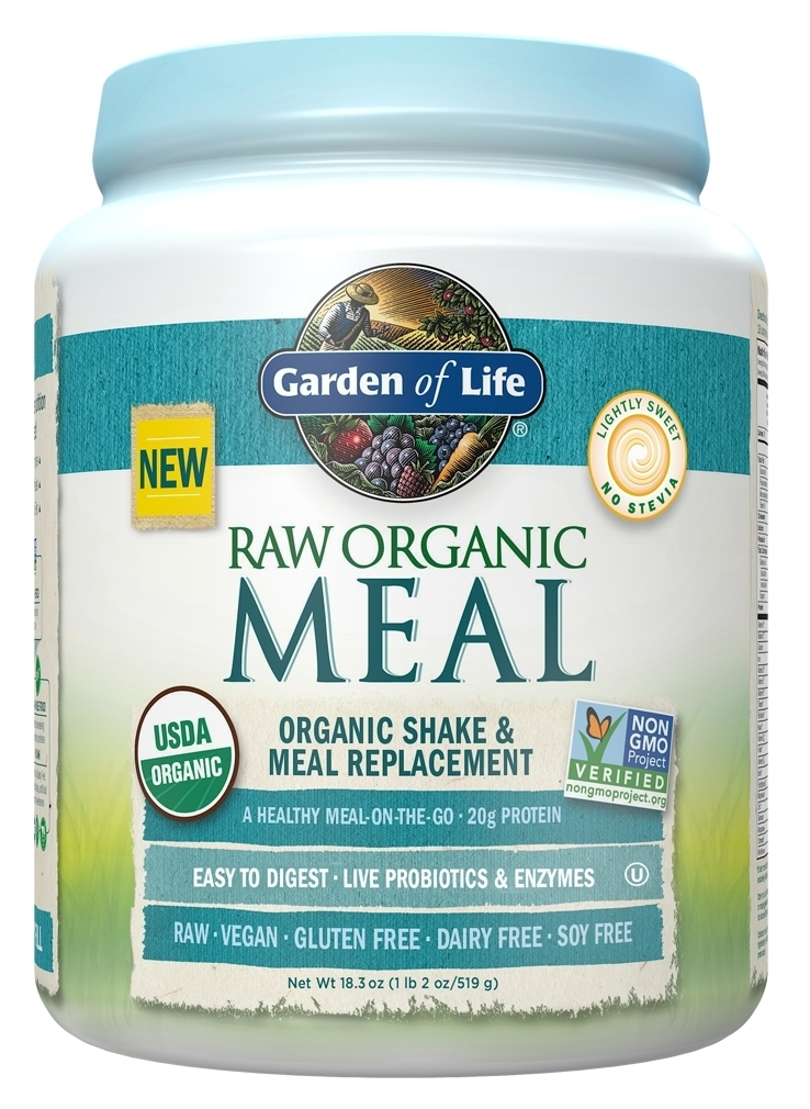 Raw Meal 1.31 lbs (593 g) by Garden of Life