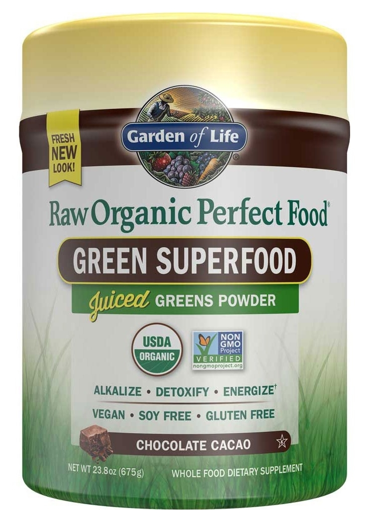 Perfect Food Raw Chocolate 570 g by Garden of Life