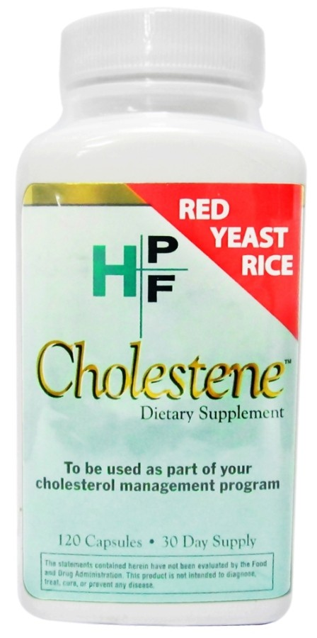 HPF Cholestene Red Yeast Rice 120 caps by Healthy Origins