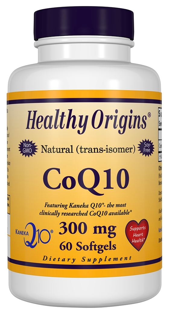 CoQ10 Gels 300 mg 60 sgels by Healthy Origins