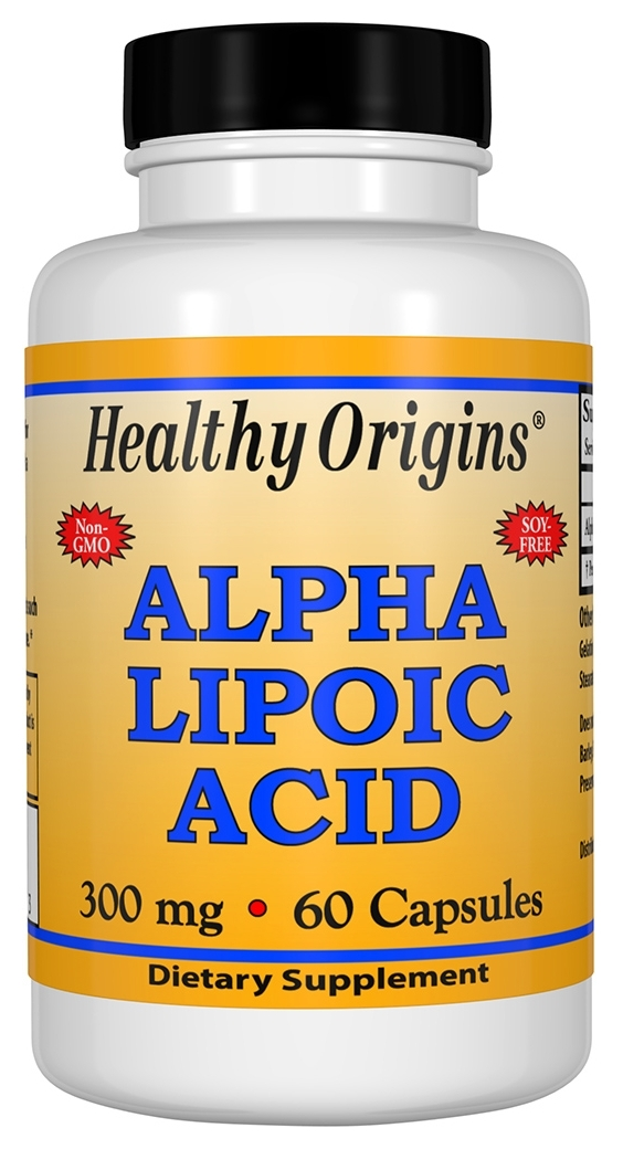 Alpha Lipoic Acid 300 mg 60 caps by Healthy Origins