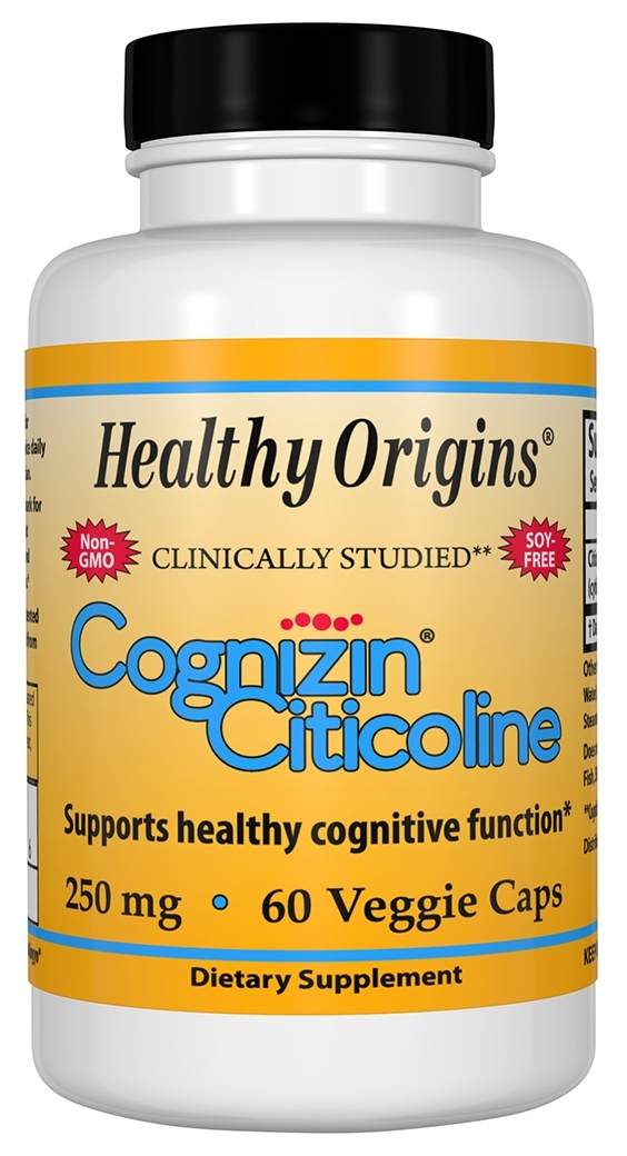 Cognizin Citicoline 250 mg 60 caps by Healthy Origins