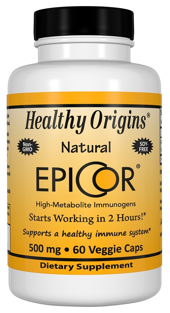 Epicor 500 mg 60 caps by Healthy Origins