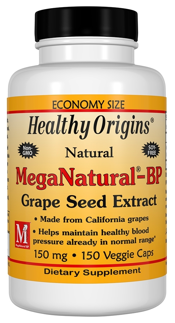 MegaNatural-BP Grape Seed Extract 150 mg 150 caps by Healthy Origins