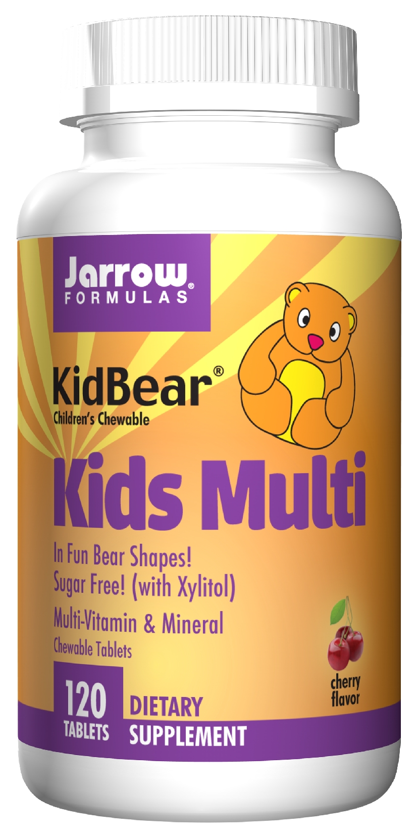 KidBear Kids Multi 120 Chewable tabs by Jarrow Formulas
