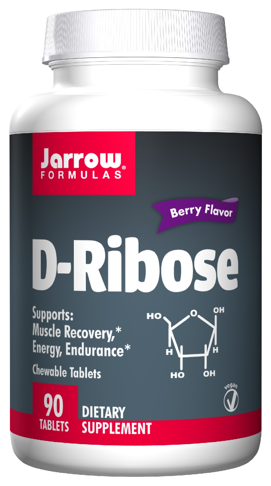 D-Ribose Chewable 90 Chewable tabs by Jarrow Formulas
