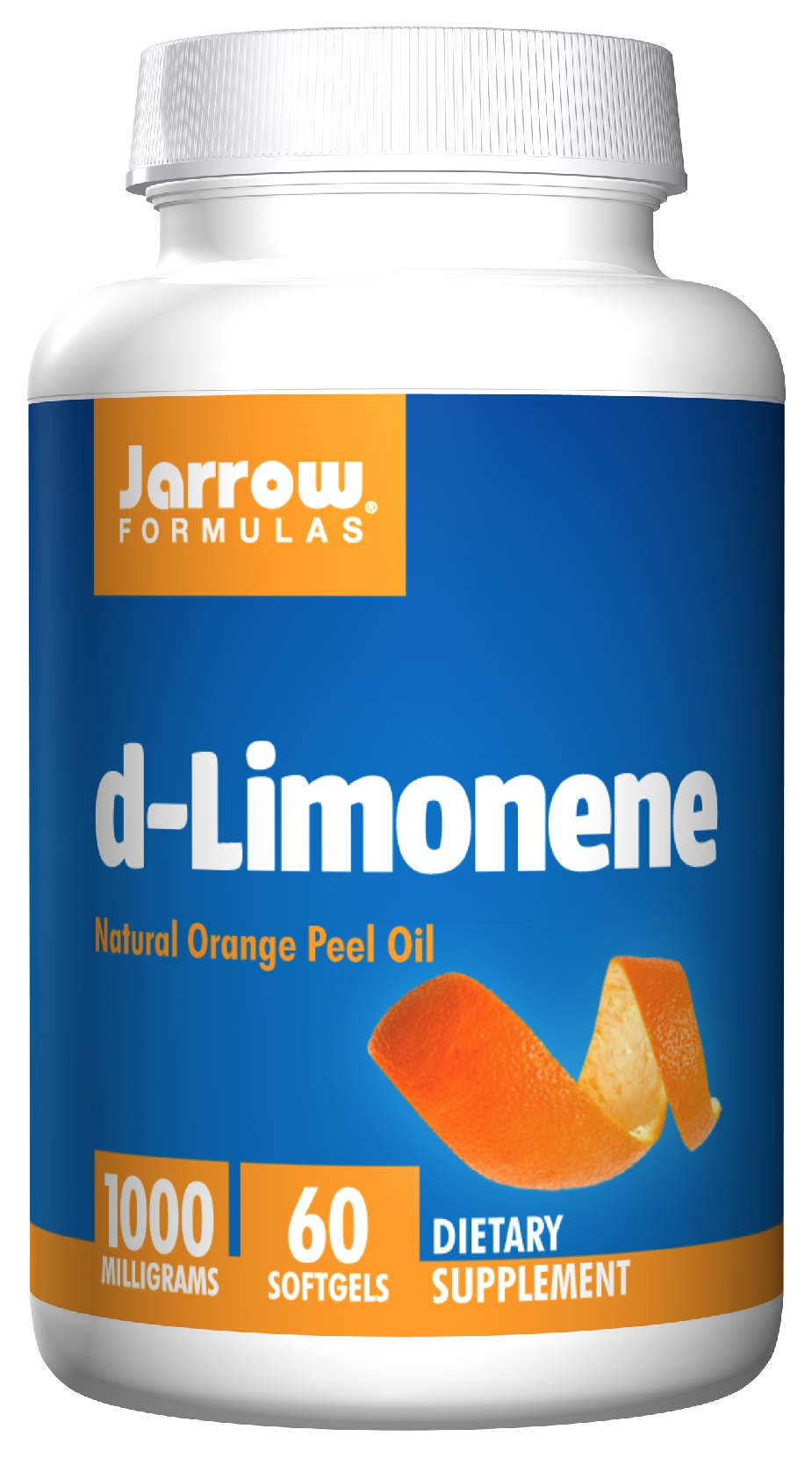 d-Limonene 1000 mg 60 sgels by Jarrow Formulas