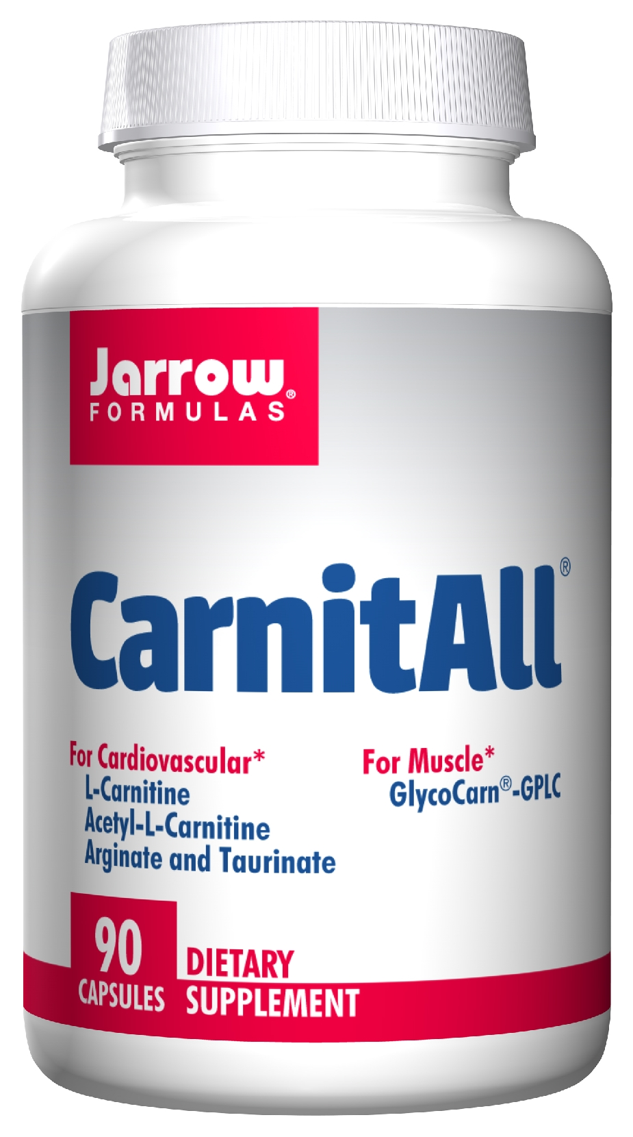 CarnitAll 600+ 90 Vegetarian caps by Jarrow Formulas