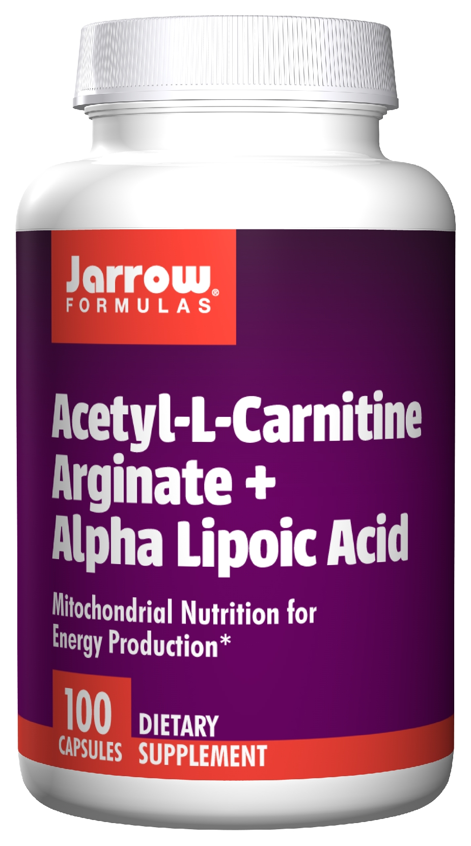 Acetyl L-Carnitine Arginate + Alpha Lipoic Acid 100 caps by Jarrow Formulas