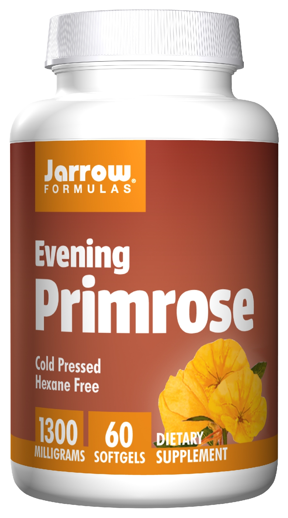 Evening Primrose 1300 1300 mg 60 sgels by Jarrow Formulas