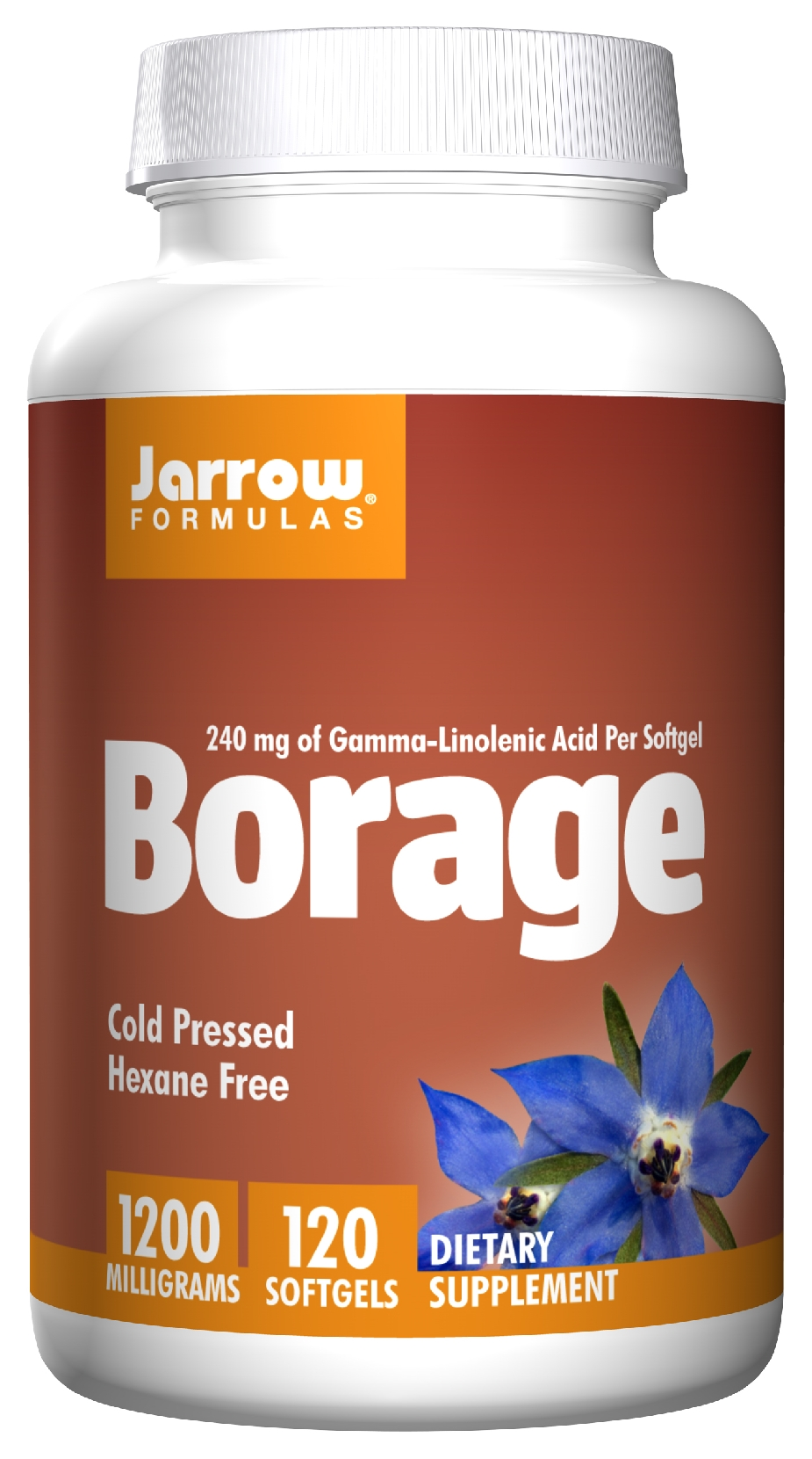 Borage GLA-240 120 sgels by Jarrow Formulas