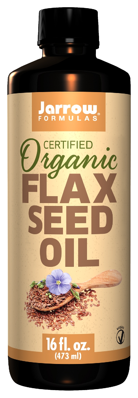 Flax Seed Oil 12 fl oz by Jarrow Formulas