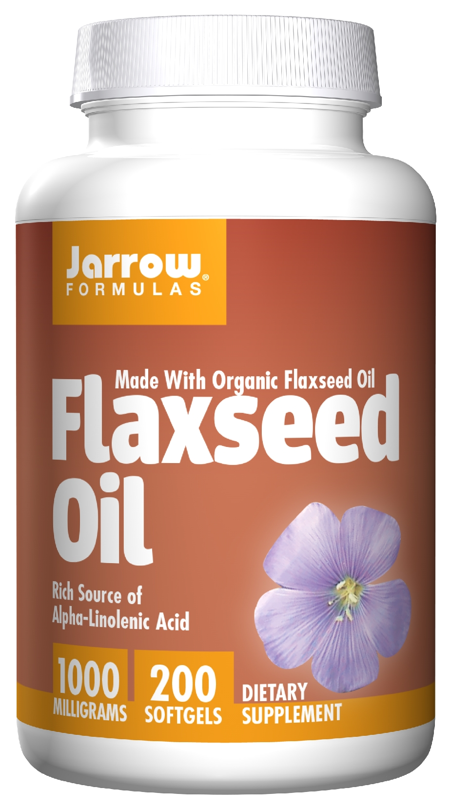 Flaxseed Oil 1000 mg 200 sgels by Jarrow Formulas