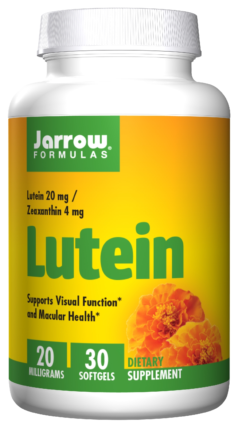 Lutein 20 mg 30 sgels by Jarrow Formulas