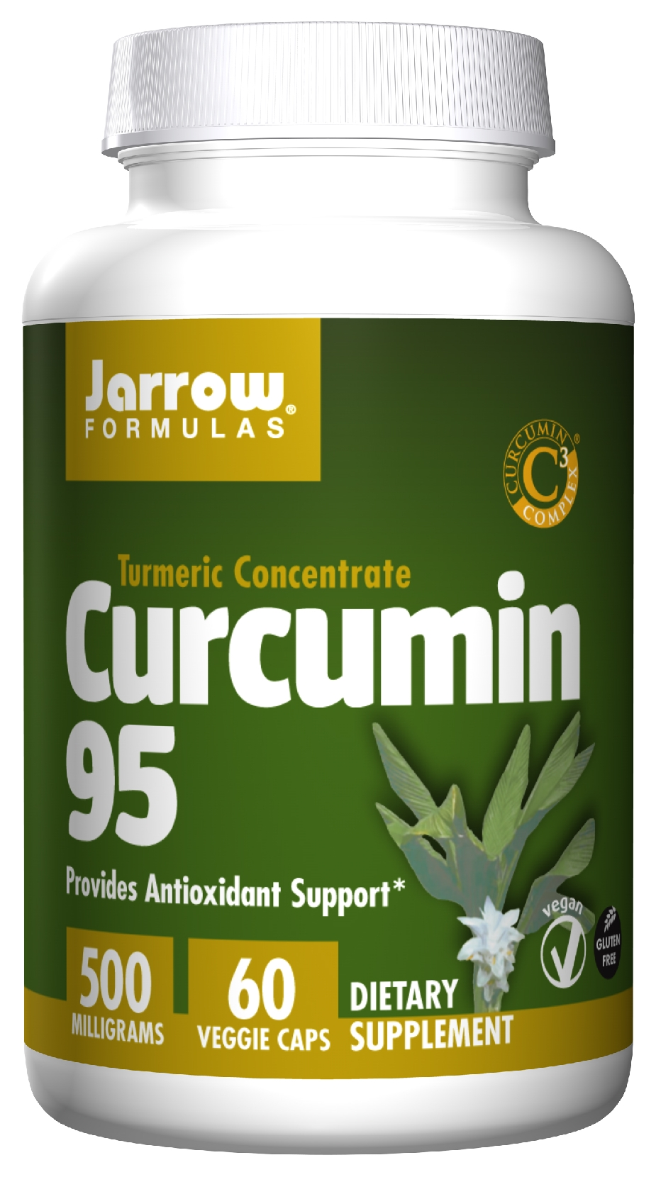 Curcumin 95 500 mg 60 caps by Jarrow Formulas
