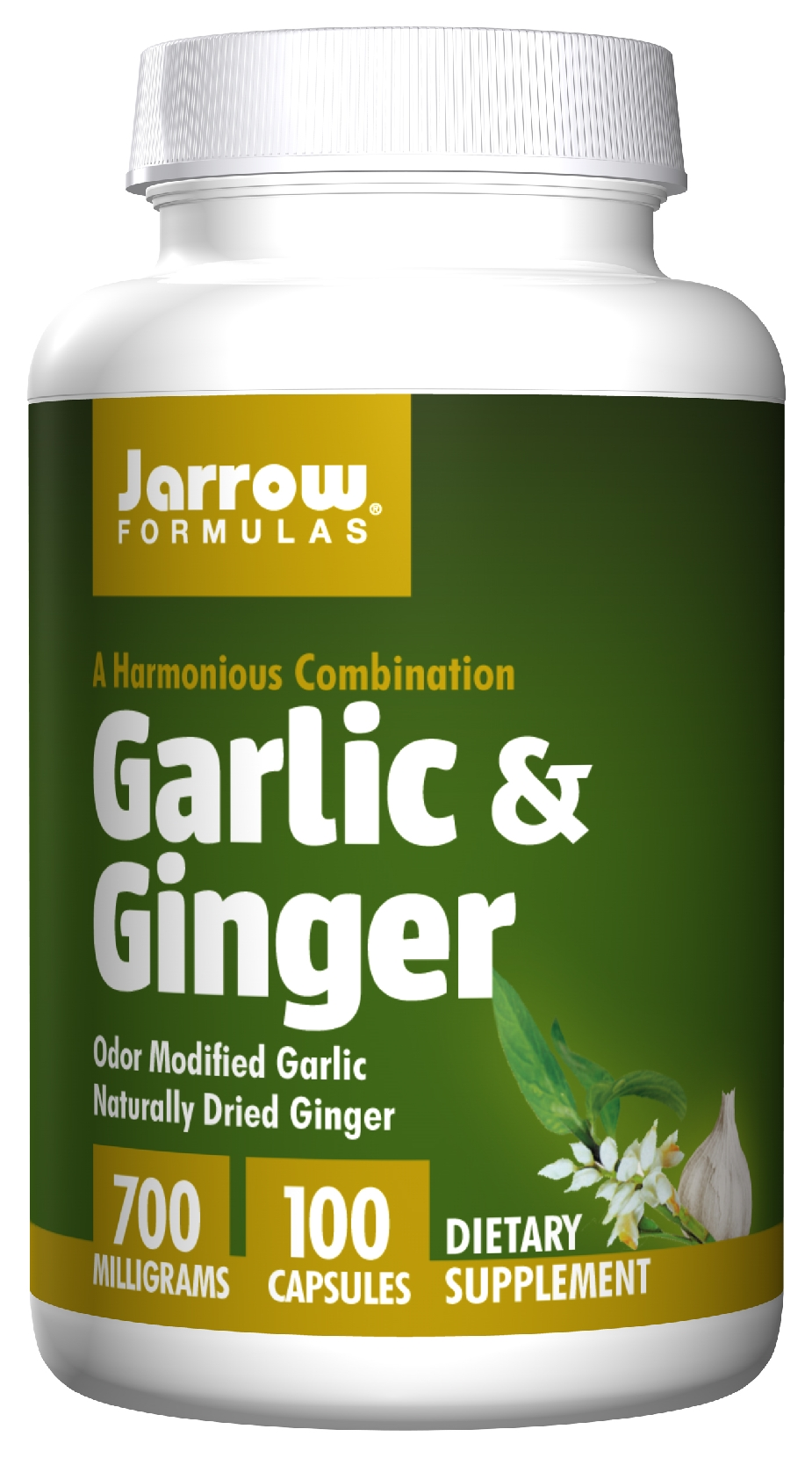 Garlic & Ginger 700 mg 100 caps by Jarrow Formulas
