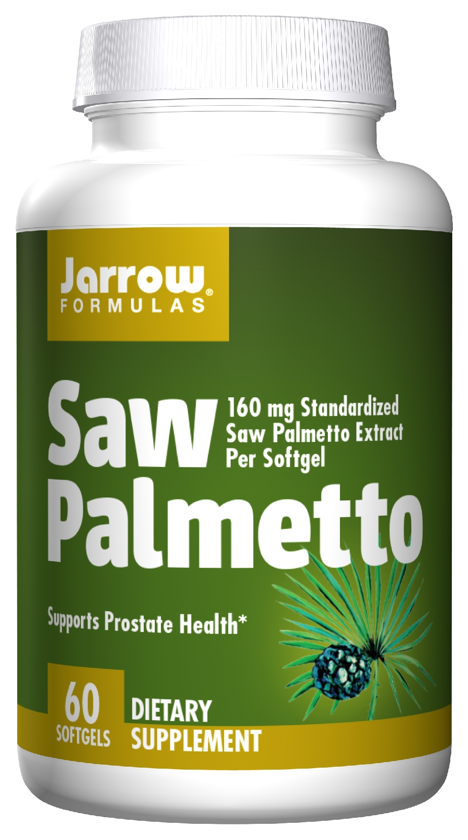 Saw Palmetto 60 sgels by Jarrow Formulas