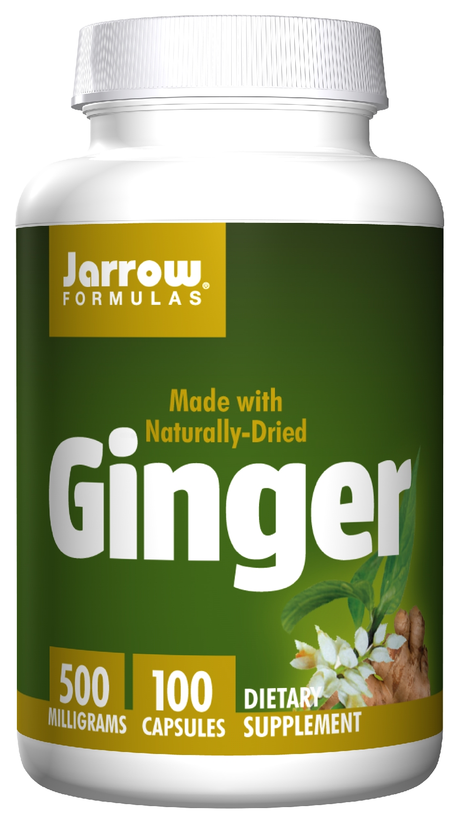Ginger 4:1 Concentrate 500 mg 100 caps by Jarrow Formulas