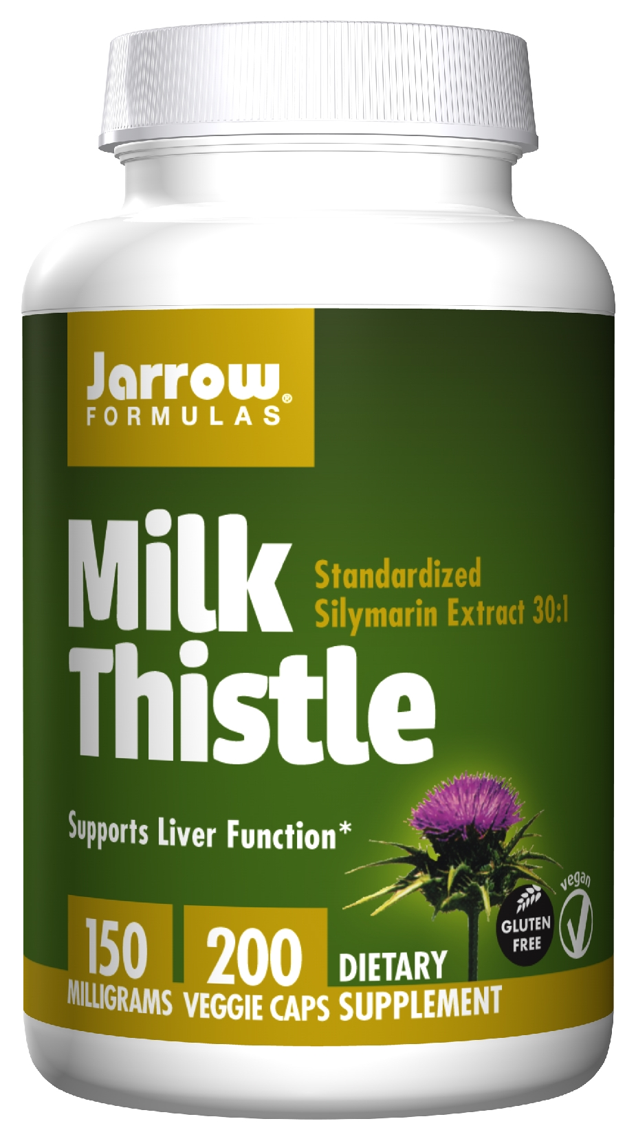 Milk Thistle 150 mg 200 caps by Jarrow Formulas