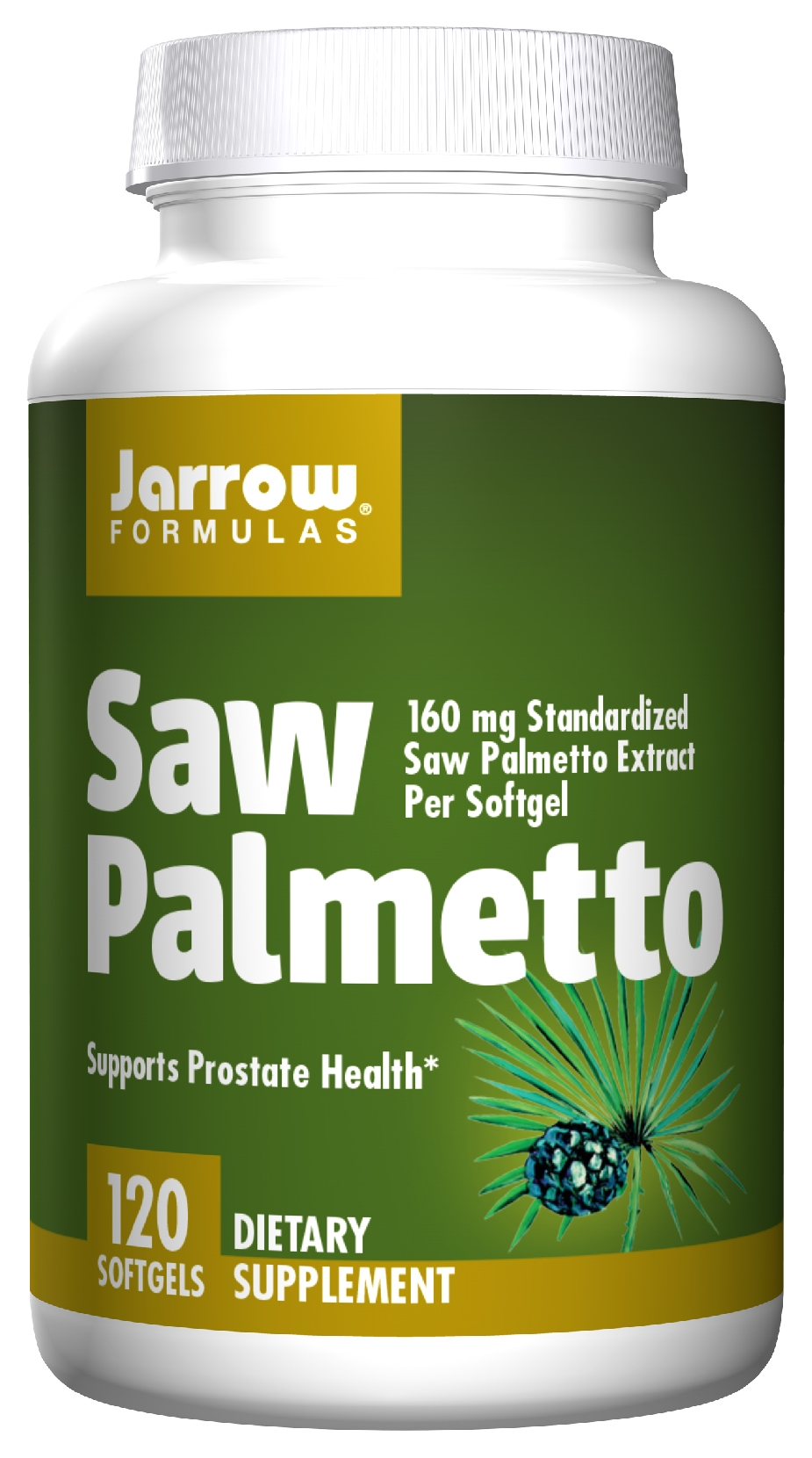 Saw Palmetto 120 sgels by Jarrow Formulas