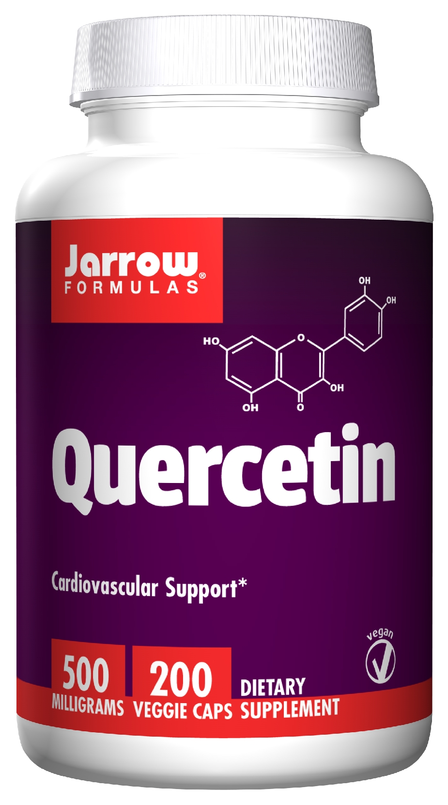 Quercetin 500 mg 200 Vegetarian caps by Jarrow Formulas