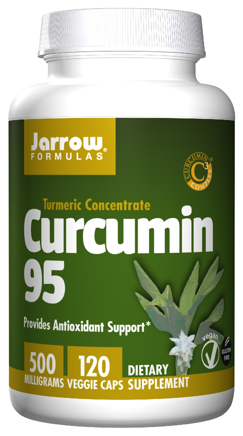 Curcumin 95 500 mg 120 caps by Jarrow Formulas