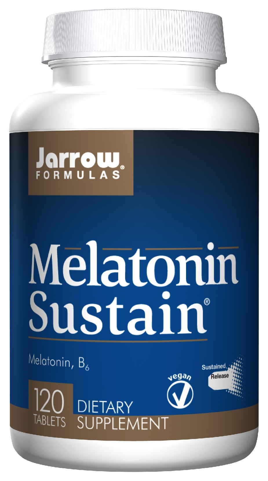 Melatonin Sustain 120 tabs by Jarrow Formulas