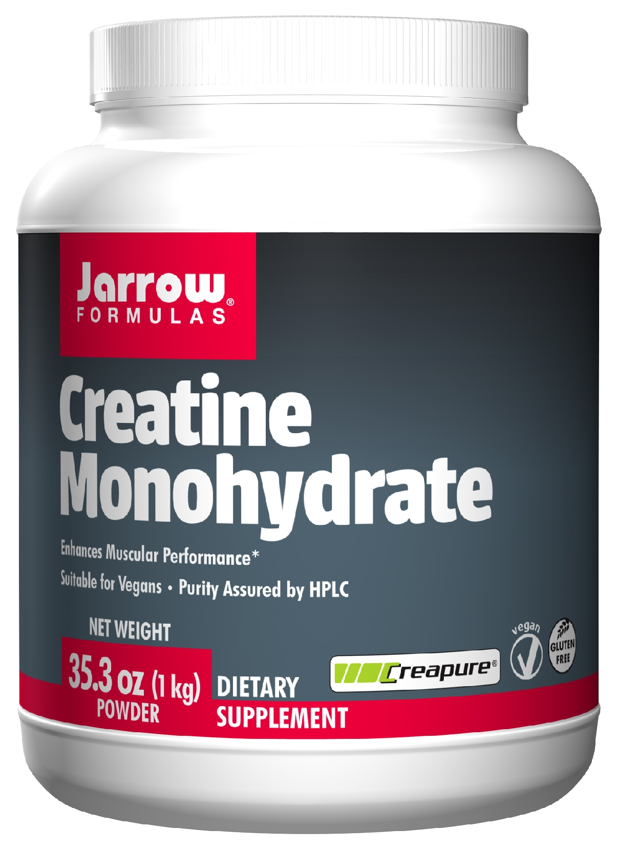 Creatine Monohydrate Kilo 35.3 oz (1 kg) by Jarrow Formulas