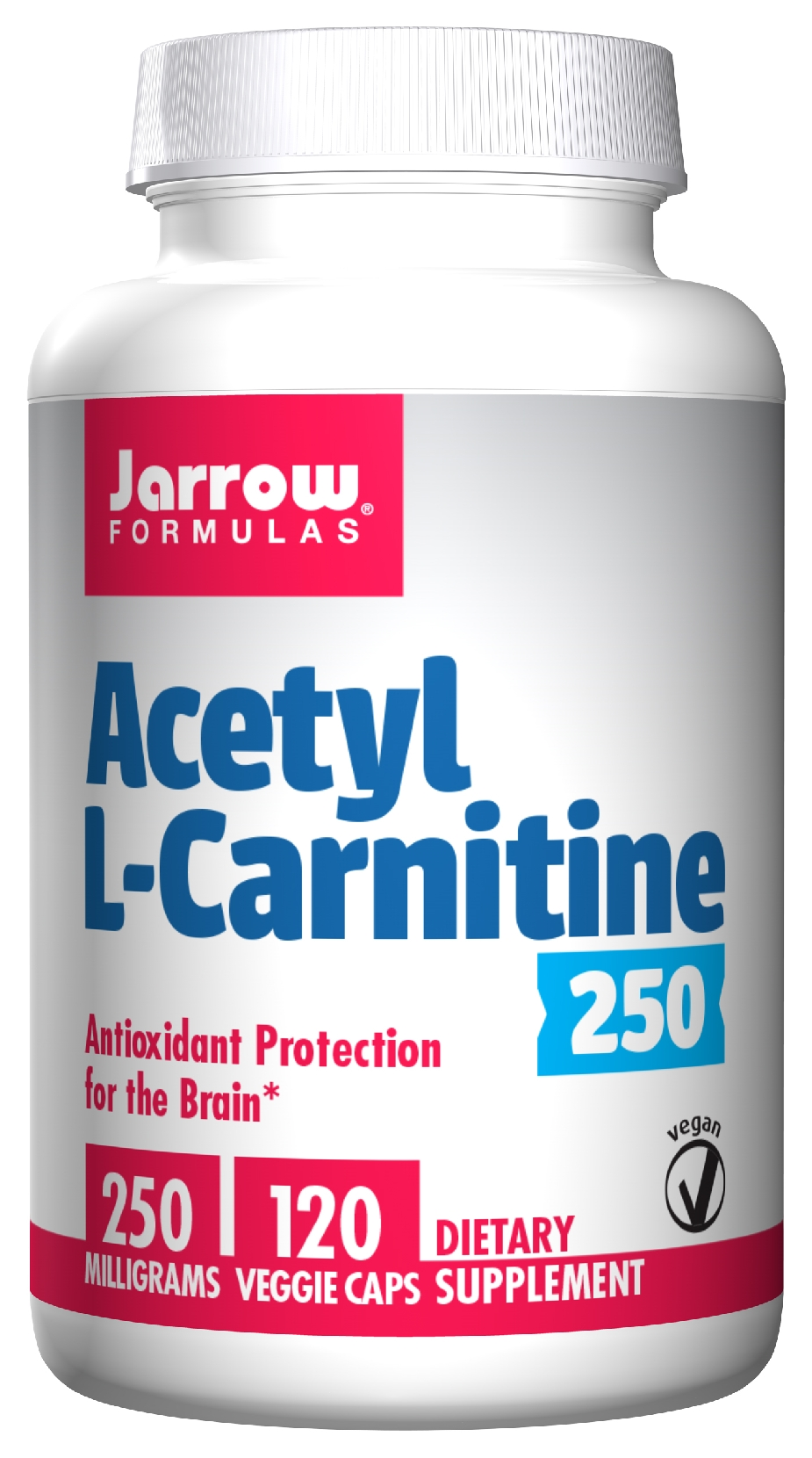 Acetyl L-Carnitine 250 mg 120 caps by Jarrow Formulas