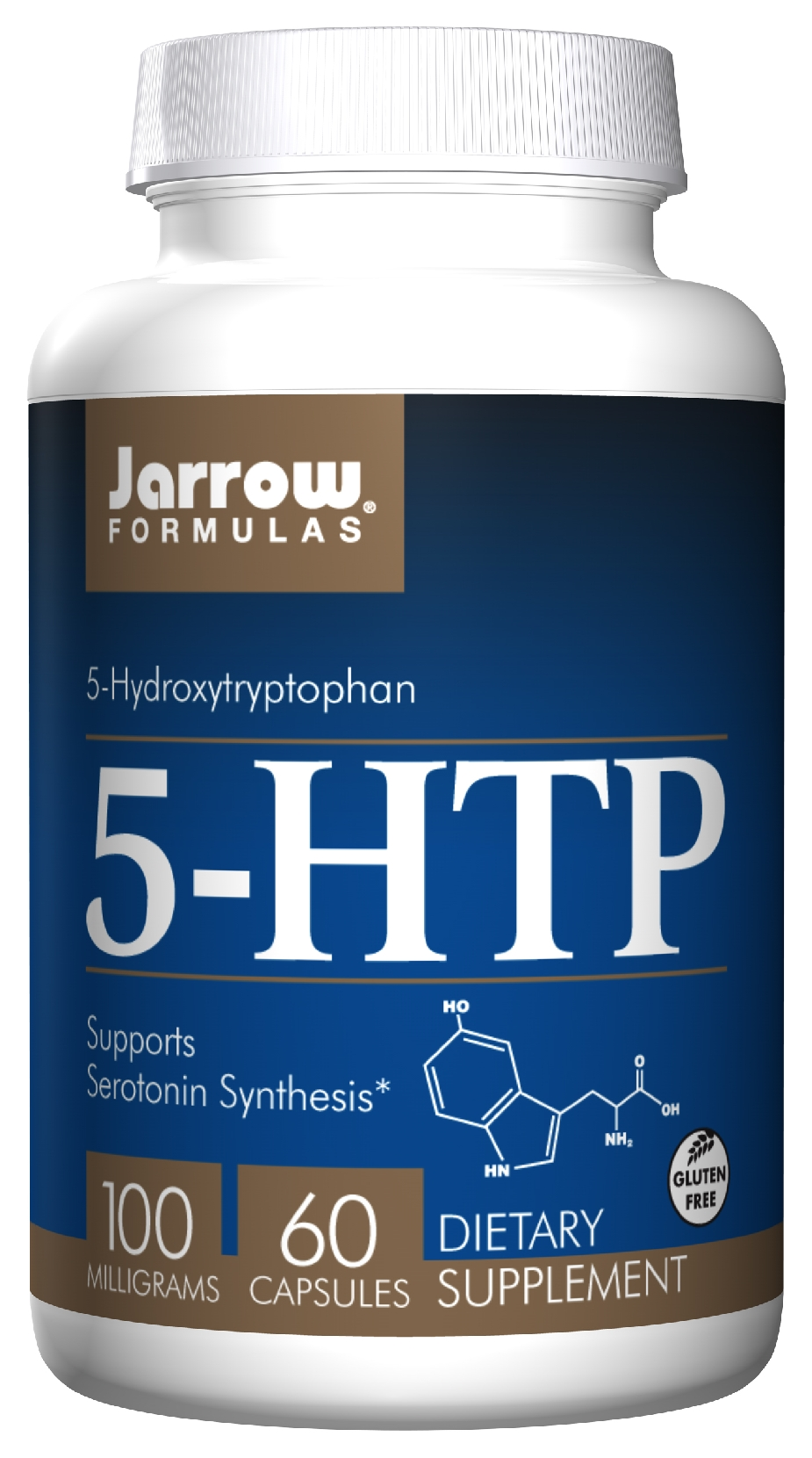 5-HTP 100 mg 60 Vegetarian caps by Jarrow Formulas
