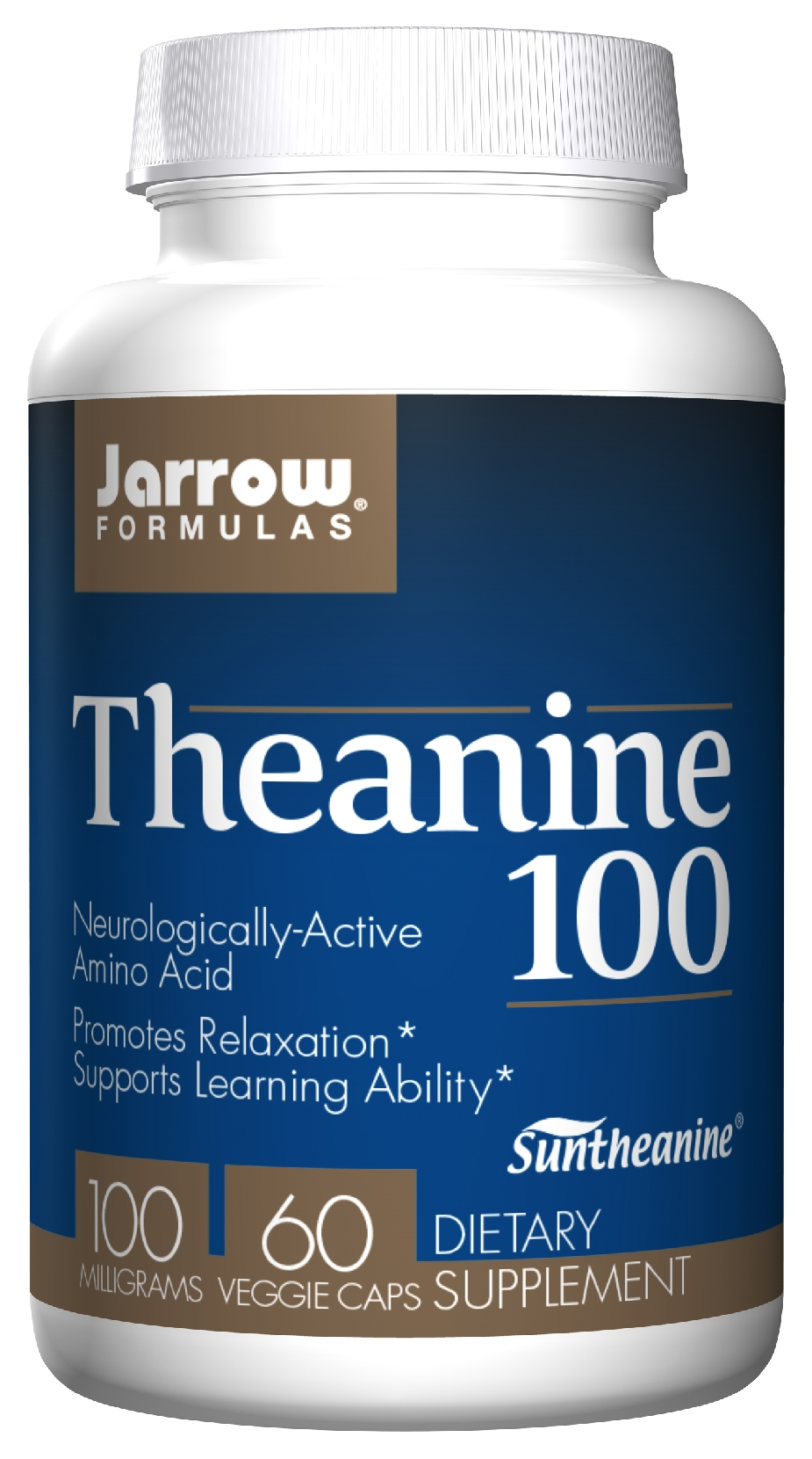 Theanine 100 100 mg 60 caps by Jarrow Formulas
