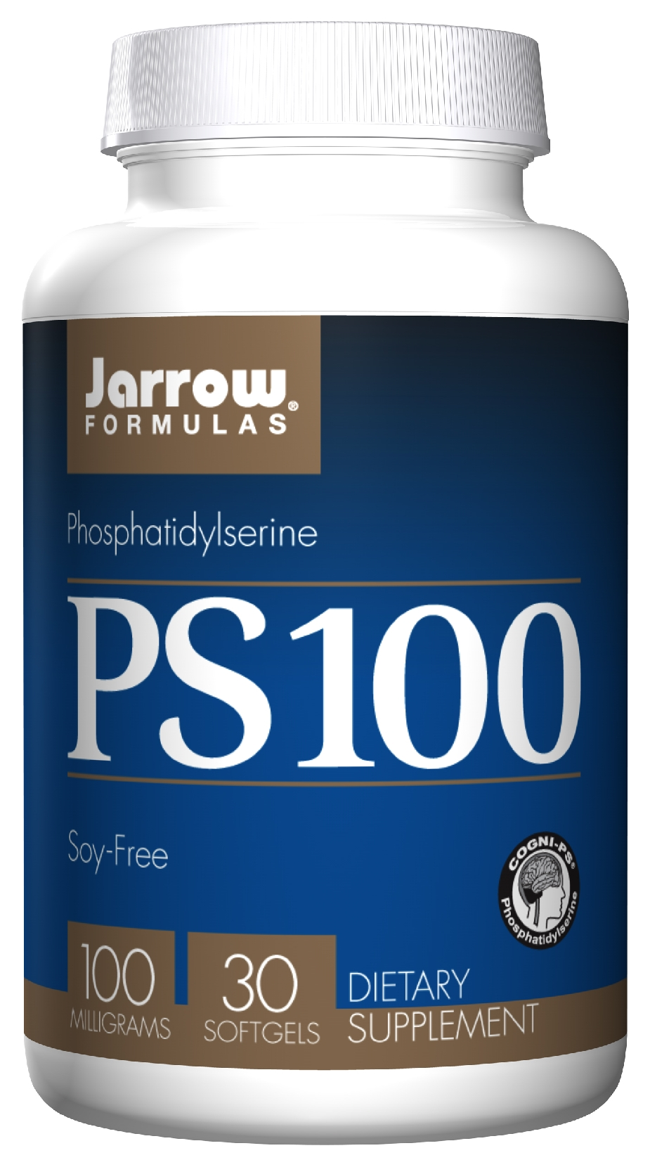 PS 100 Phosphatidylserine 100 mg 30 sgels by Jarrow Formulas