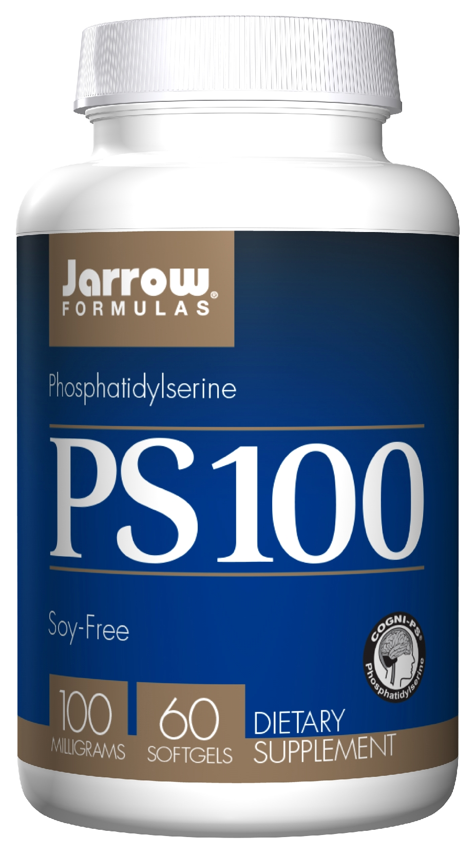 PS 100 Phosphatidylserine 100 mg 60 sgels by Jarrow Formulas