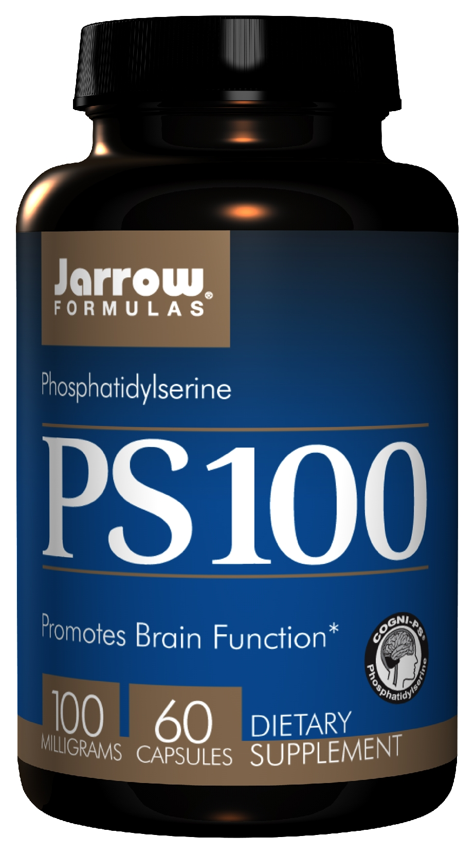 PS 100 Phosphatidylserine 100 mg 60 caps by Jarrow Formulas
