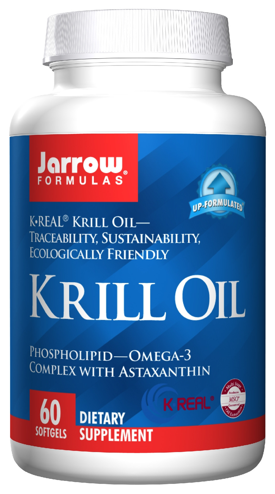 Krill Oil 60 sgels by Jarrow Formulas