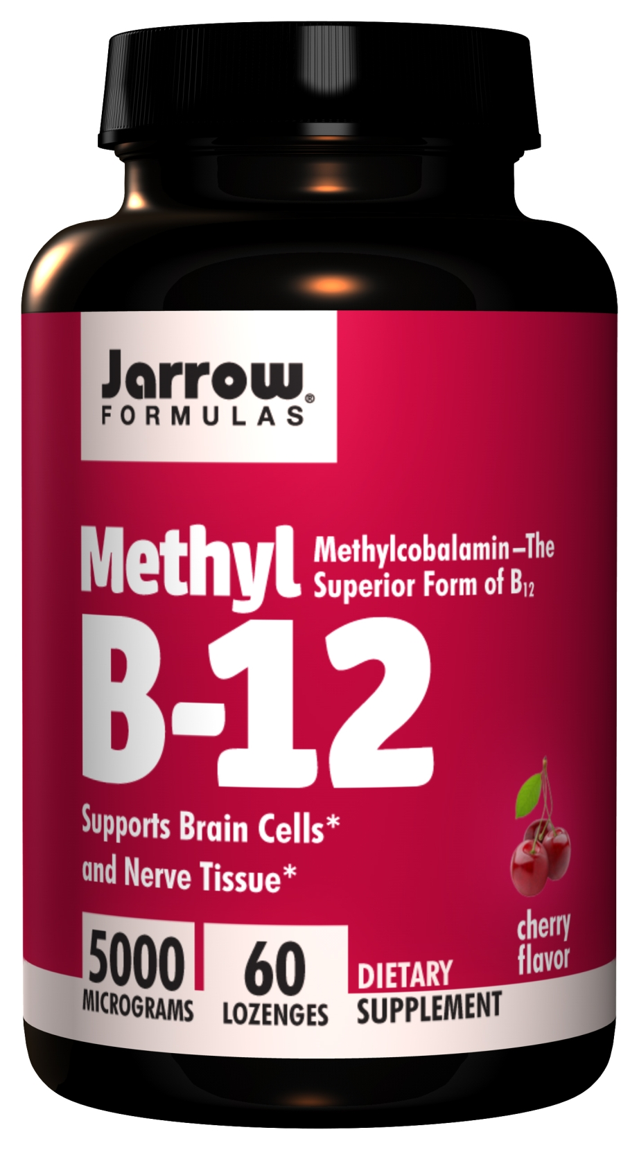 Methyl B-12 5000 mcg 60 Lozenges by Jarrow Formulas