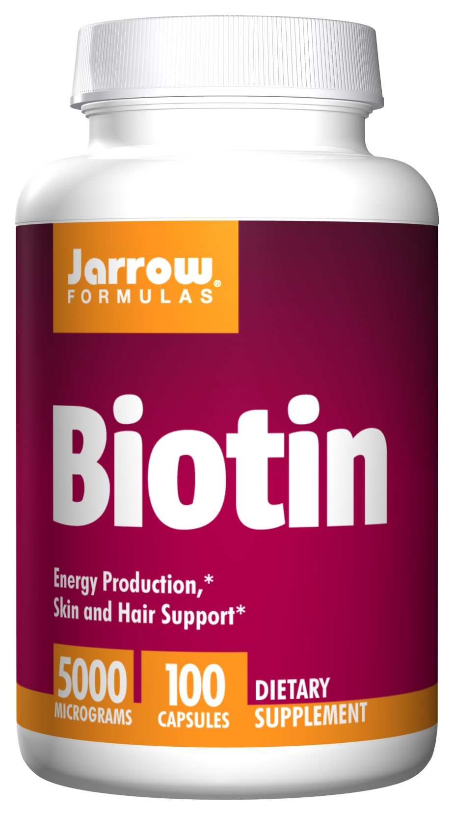 Biotin 5000 mcg 100 caps by Jarrow Formulas