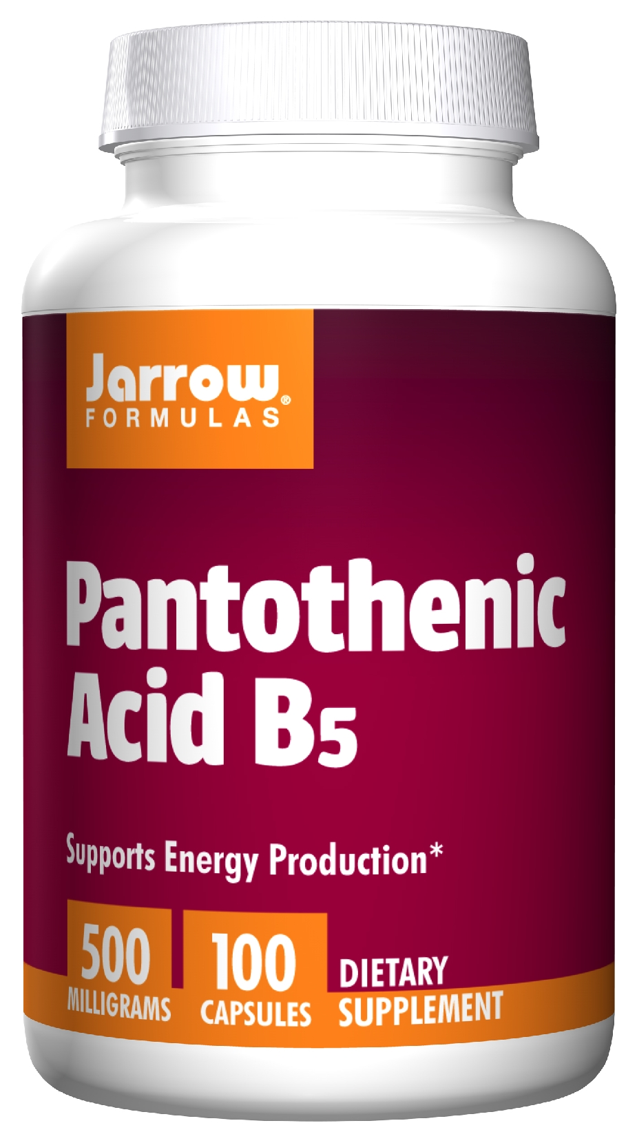 Pantothenic Acid B5 500 mg 100 caps by Jarrow Formulas