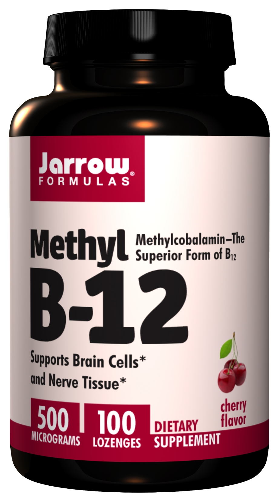 Methyl B-12 500 mcg 100 Lozenges by Jarrow Formulas