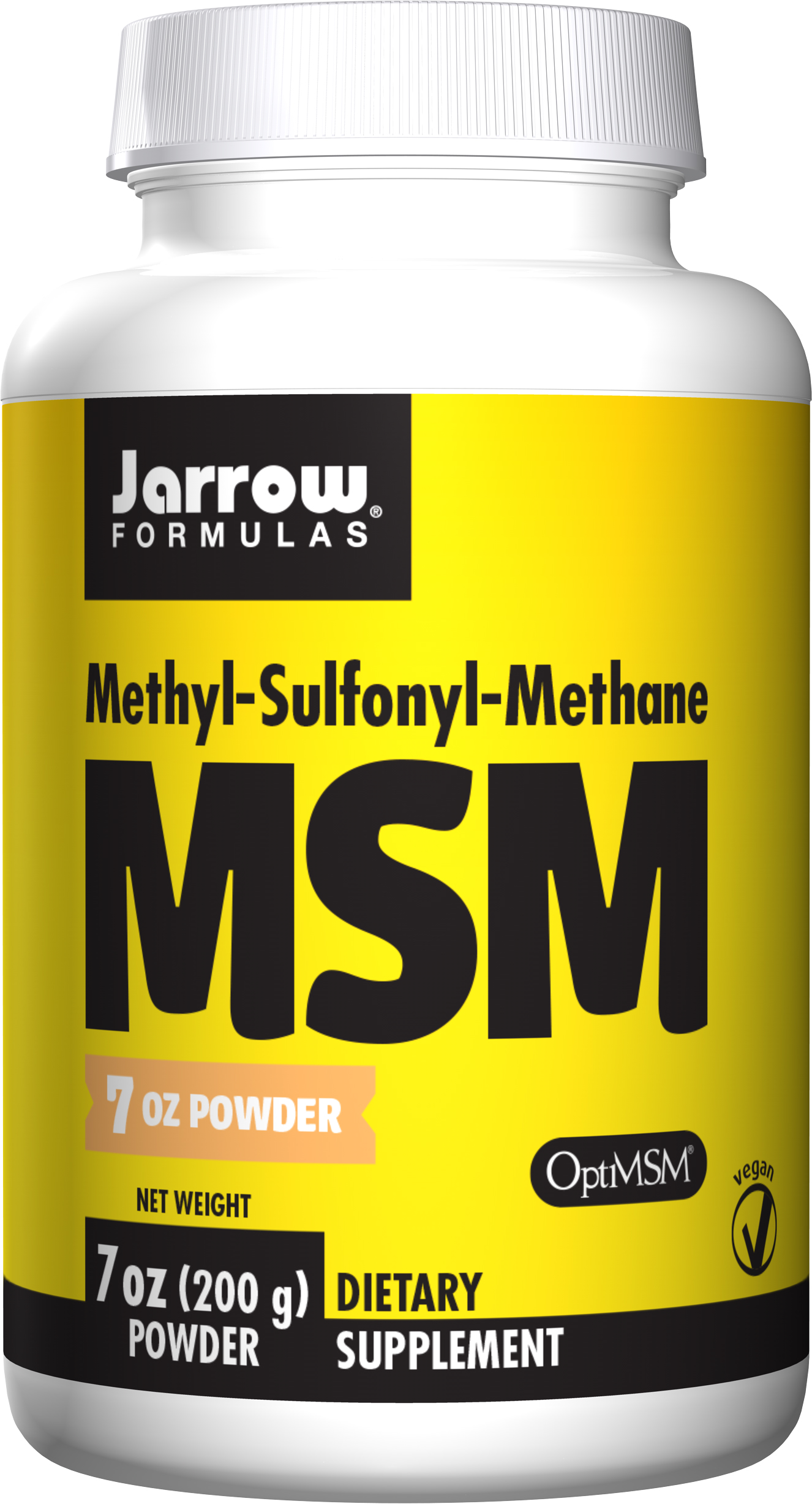 MSM Sulfur Powder 7 oz (200 g) by Jarrow Formulas