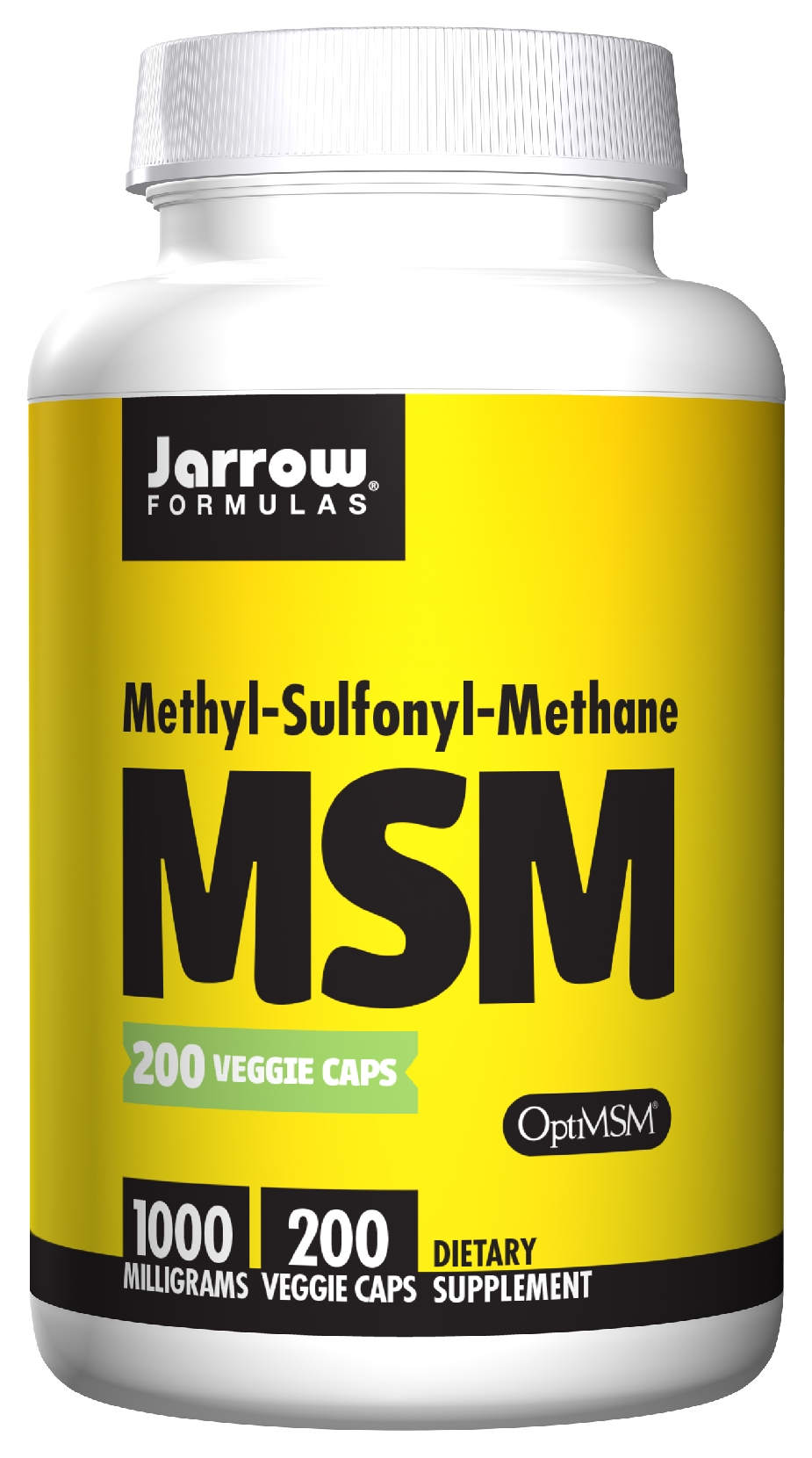 MSM Sulfur 1000 mg 200 caps by Jarrow Formulas