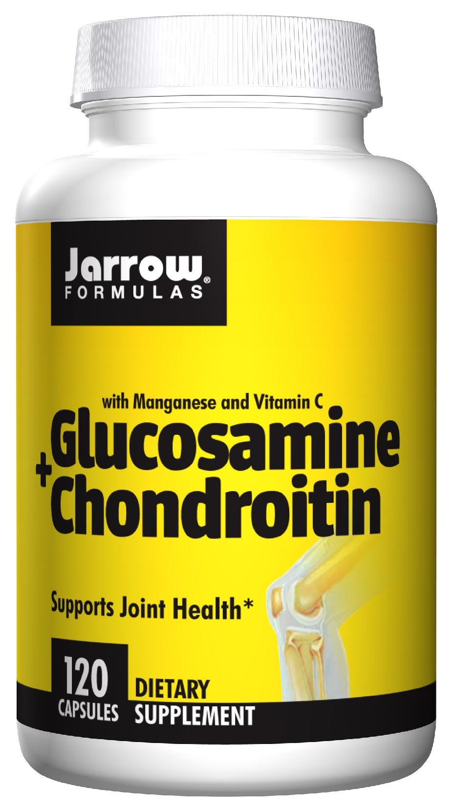 Glucosamine + Chondroitin Combination 120 caps by Jarrow Formulas