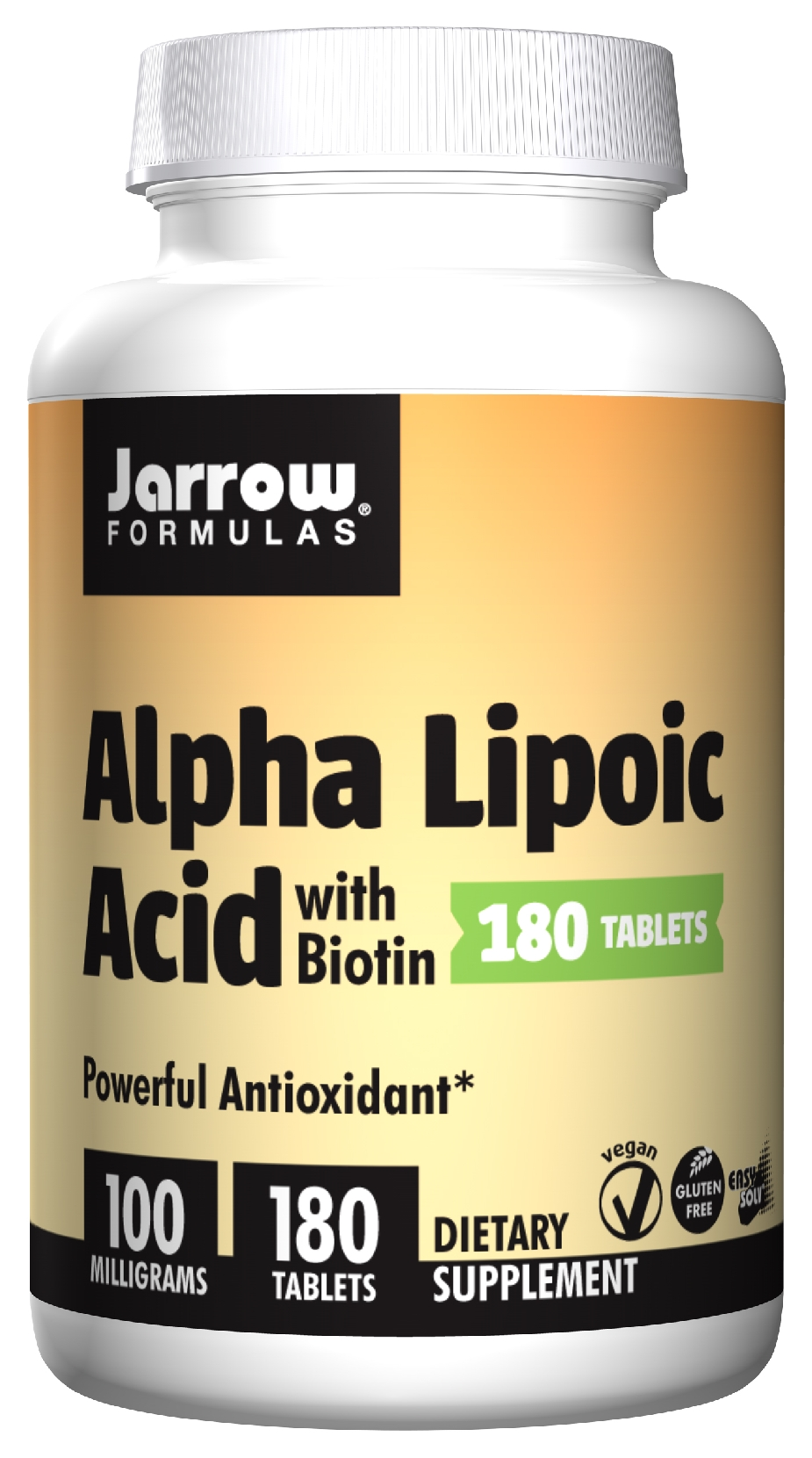 Alpha Lipoic Acid 100 mg 180 Easy-Solv tabs by Jarrow Formulas