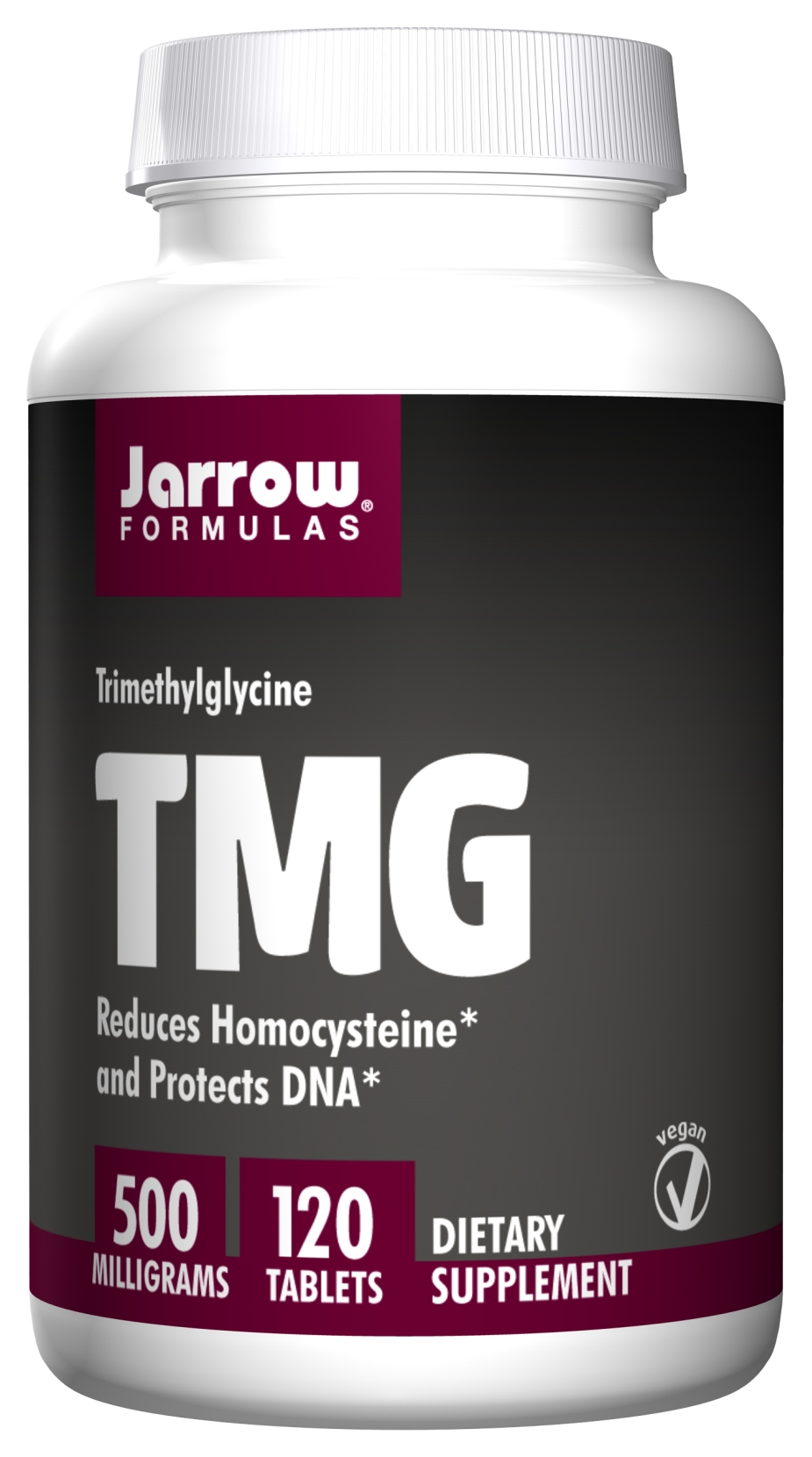 TMG 500 mg 120 Easy-Solv tabs by Jarrow Formulas