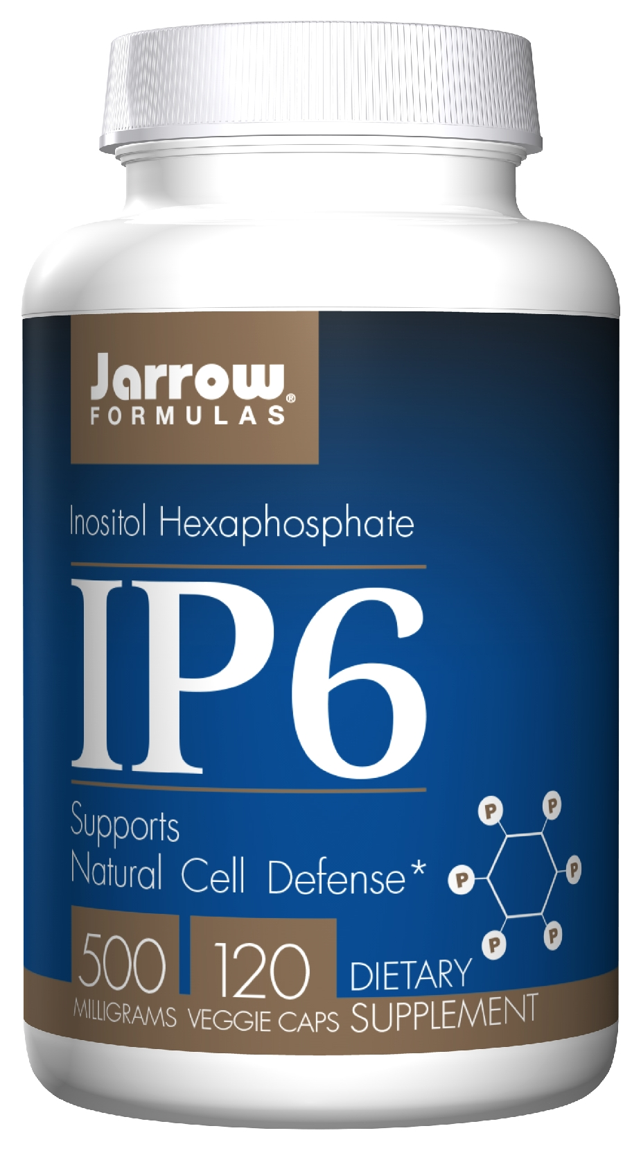 IP6 Inositol Hexaphosphate 500 mg 120 caps by Jarrow Formulas