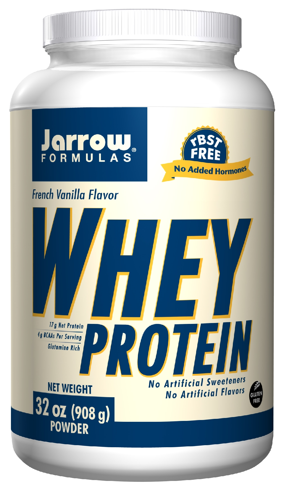 Whey Protein French Vanilla 2 lbs (908 g) by Jarrow Formulas