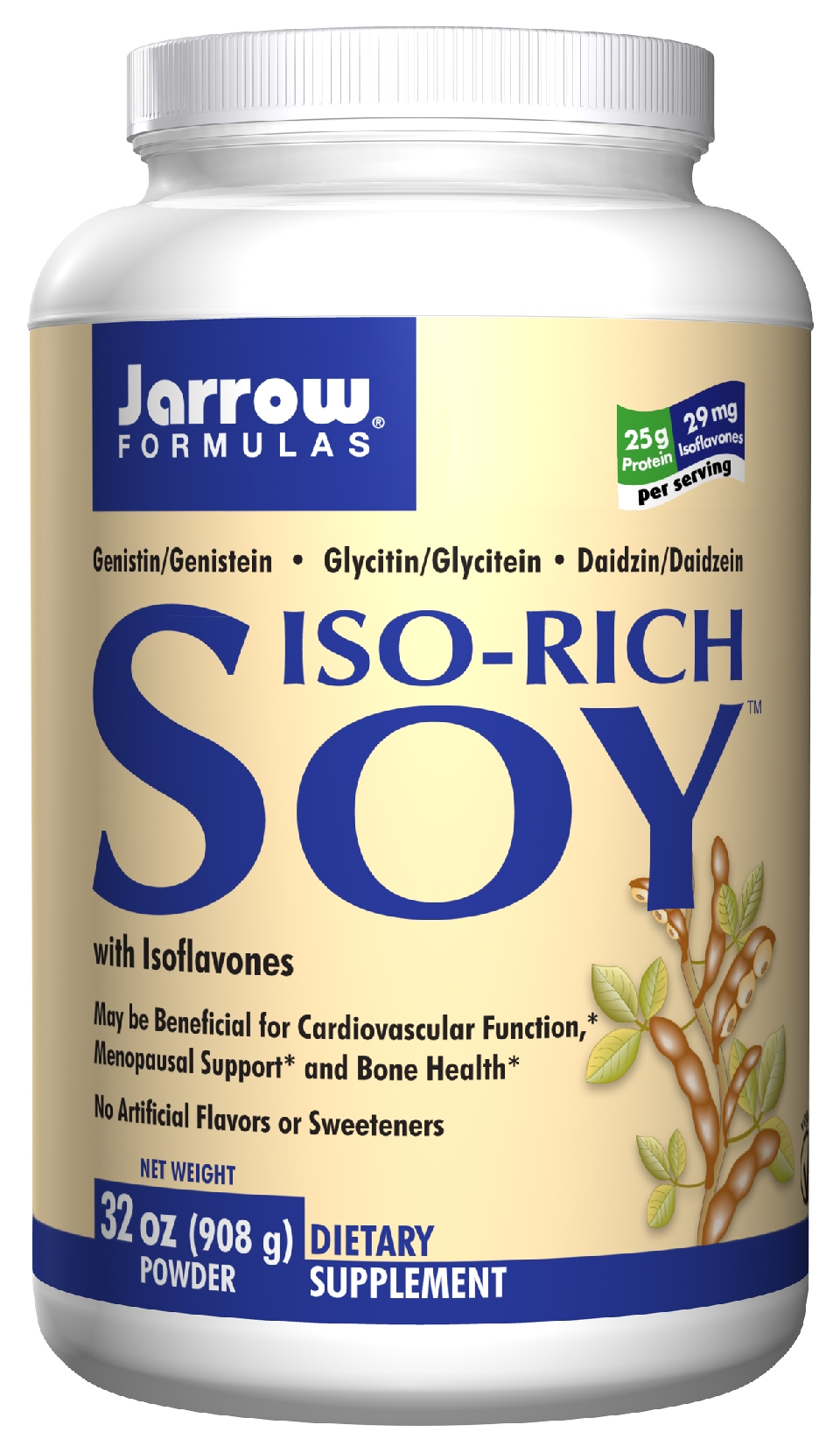 Iso-Rich Soy 32 oz (908 g) by Jarrow Formulas