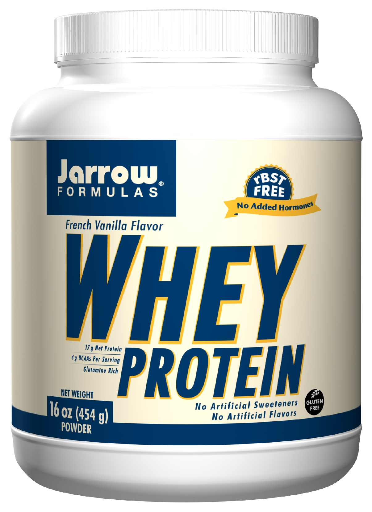 Whey Protein French Vanilla 1 lb (454 g) by Jarrow Formulas