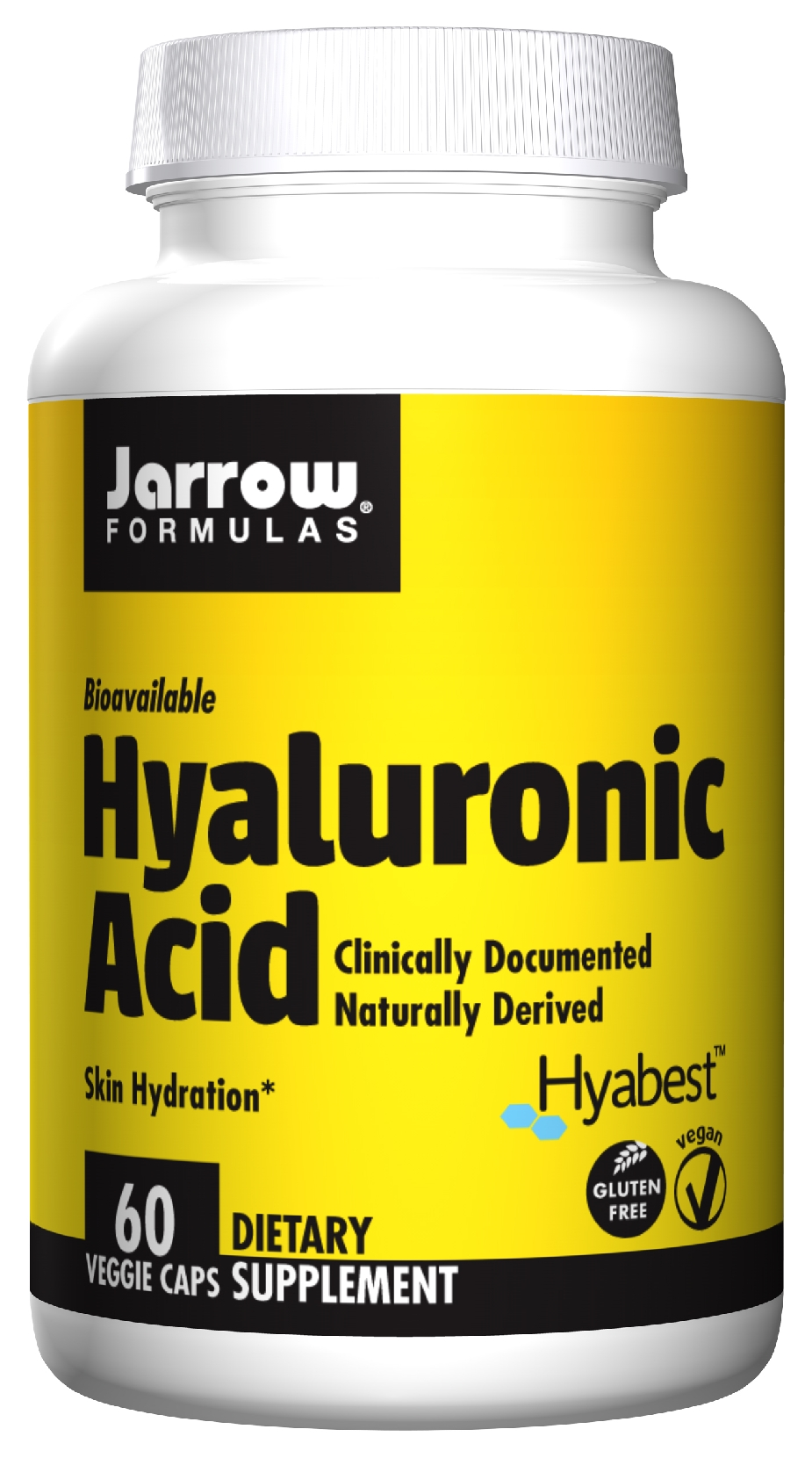 Hyaluronic Acid 50 mg 60 caps by Jarrow Formulas