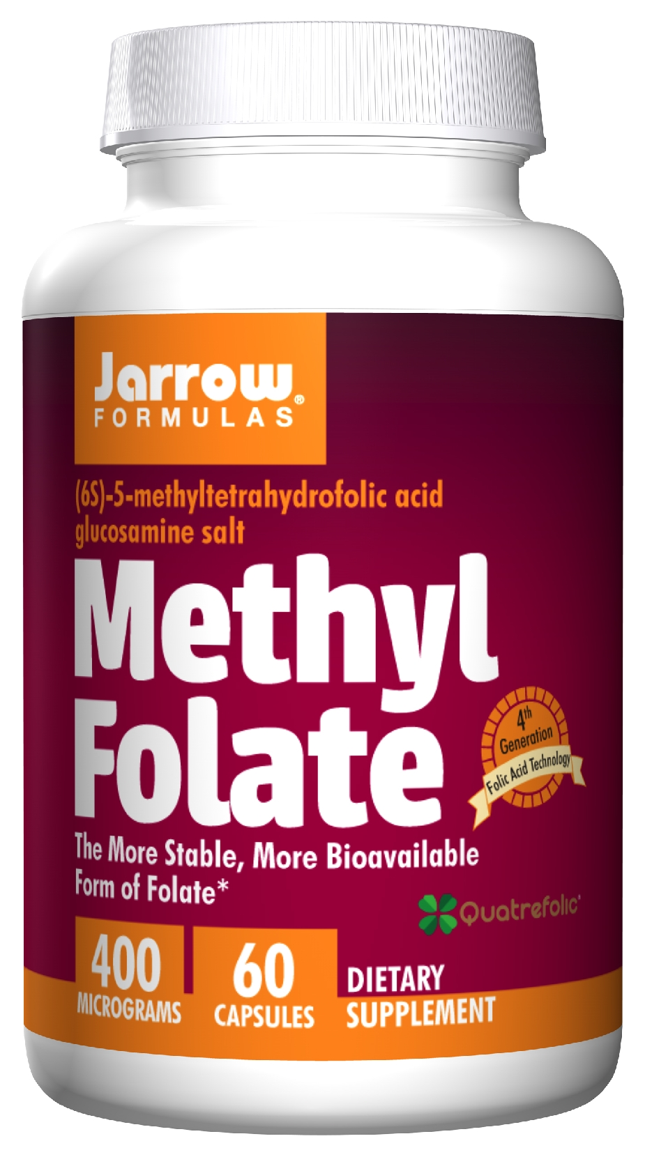 Methyl Folate 60 caps by Jarrow Formulas